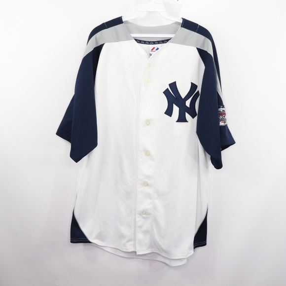 on sale b0a3c d6c9e Majestic Mens Large NY Yankees Jeter '08 Jersey